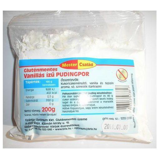 Mester Család - Vaníliás ízű pudingpor 200g
