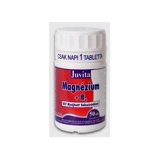 Jutavit magnézium + b6 tabletta 50db