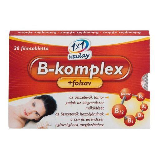1x1 Vitaday tabletta b-komplex + folsav 30db
