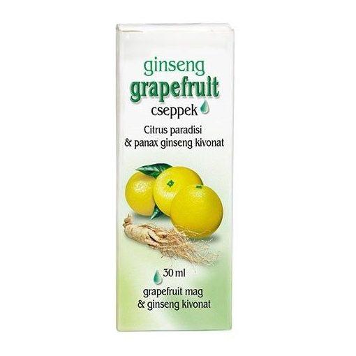 Dr. Chen Grapefruit Cseppek Ginsenggel 30ml