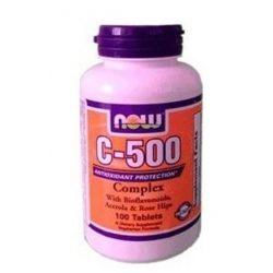 Now vitamin c-500 complex tabetta bioflavonoidokkal 100db