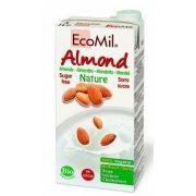 Bio ecomil mandulaital édesítőszer nélkül 1000ml