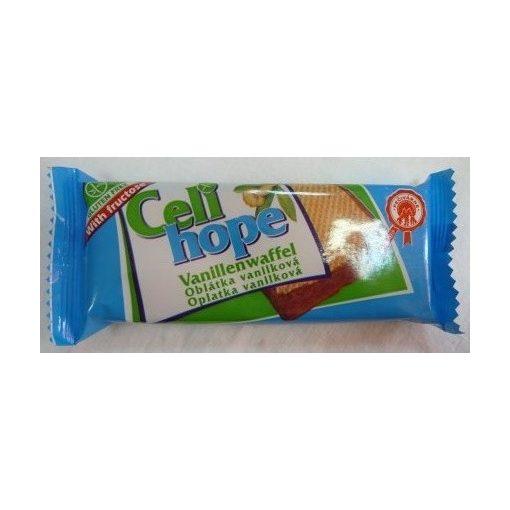 Gluténmentes celi hope földimogyorós ostya csokis 35g