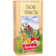 Apotheke tea diacare herbal filteres 20db