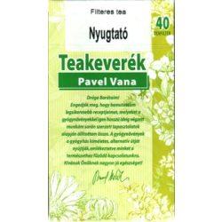 Pavel Vana teakeverék nyugtató filteres 40db