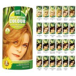Hennaplus hajfesték 5 világos barna