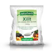 Naturherb Xilit (Nyírfacukor) 1000g
