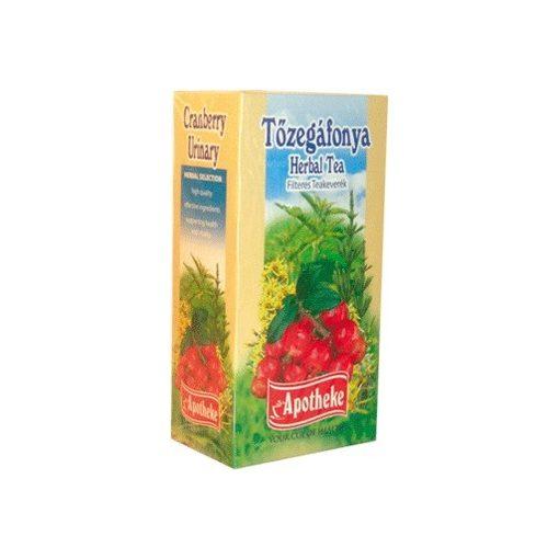 Apotheke tea tőzegáfonya filteres 20db