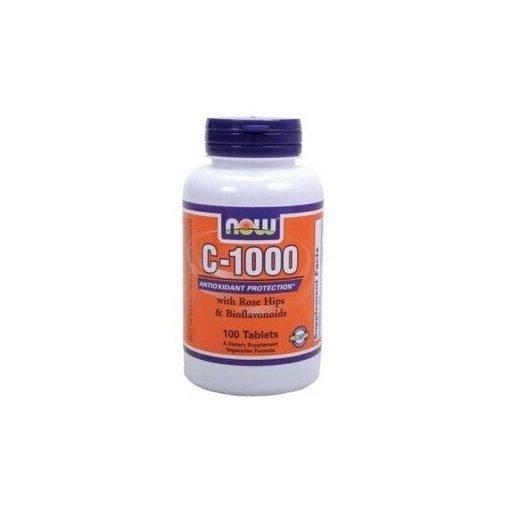 Now vitamin c-1000mg + csipkebogyó tabletta 100db