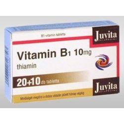 Jutavit vitamin b1 10mg tabletta 30db