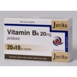 Jutavit vitamin b6 20mg tabletta 30db