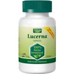 Zöldvér lucerna 100% tabletta 150db