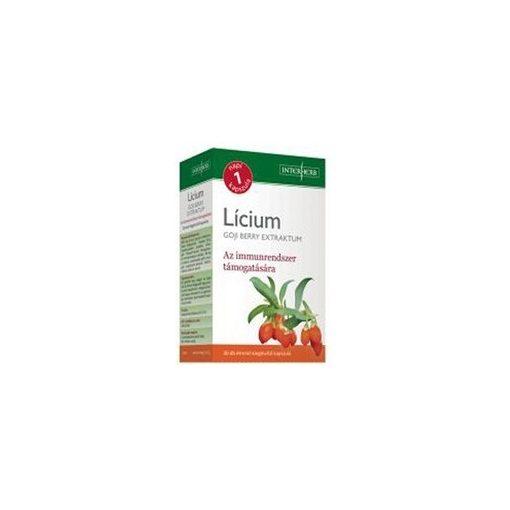 Interherb Napi 1 LÍCIUM GOJI BERRY Extraktum kapszula 300 mg 30db