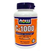 Now vitamin c-1000mg + bioflavonoid tabletta 100db
