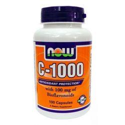 Now vitamin c-1000mg + bioflavonoid tabletta 100db