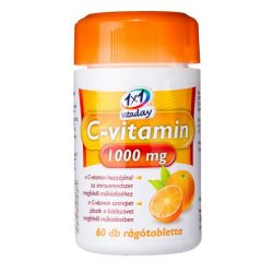 1x1 Vitaday rágótabletta c-vitamin 1000mg 60db