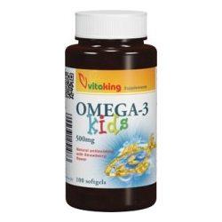 Vitaking Omega-3 Kids Kapszula 100db