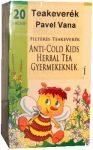 Pavel Vana teakeverék anti-cold herbal gyermekeknek filteres 20db