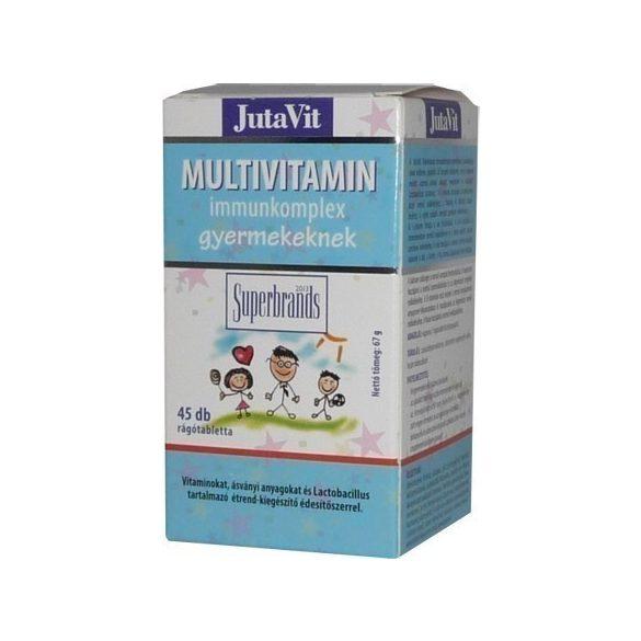 Jutavit multivitamin immunkomplex tabletta gyerekeknek 45db
