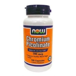 Now chromium piccolinate kapszula 100db