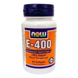 Now e-400 antioxidant lágyzselatin kapszula 50db