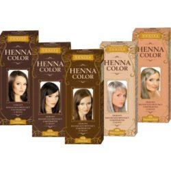 Henna Color hajfesték 18 fekete meggy 75ml