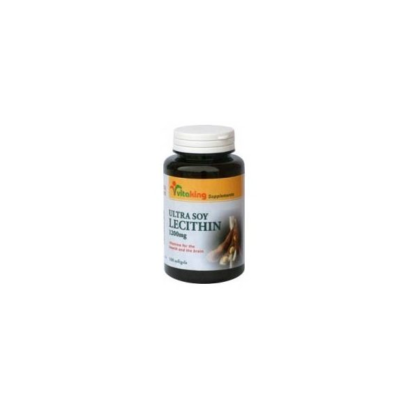 Vitaking Lecitin 1200 mg (100 db)