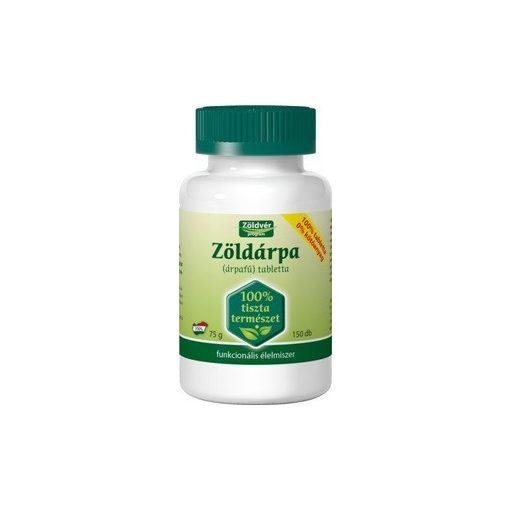 Zöldvér zöldárpa 100% tabletta 300db