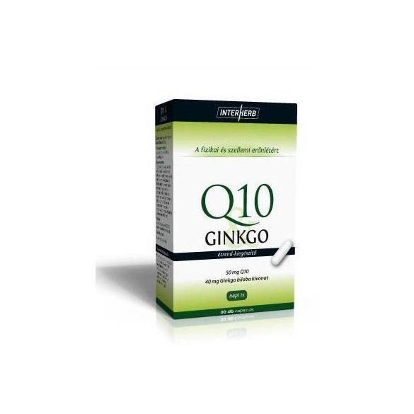Interherb Q10 és GINKGO Extraktum kapszula 30db