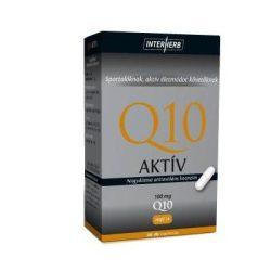 Interherb Q10 AKTÍV kapszula 100mg 30db