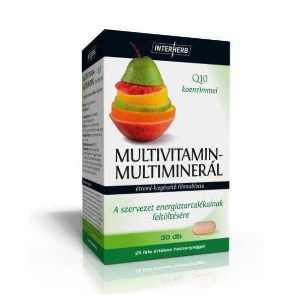 Interherb Multivitamin és Multiminerál tabletta 30db