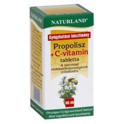 Naturland Propolisz tabletta + C-vitamin 20db