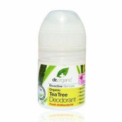 Dr.organic golyós dezodor teafa 50ml