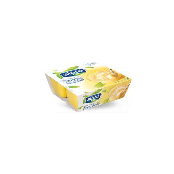 Alpro szójadesszert vaníliás 125g