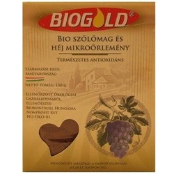 Bio Biogold szőlőmag mikroőrlemény 150g
