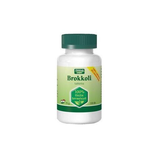Zöldvér brokkoli 100% tabletta 150db