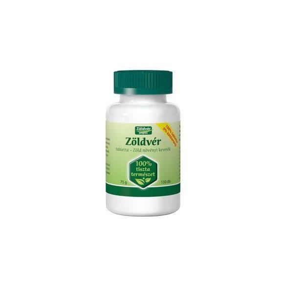 Zöldvér 100% tabletta 150db