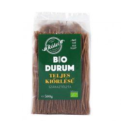 Rédei Bio durum teljes kiőrlésű tészta spagetti 500g