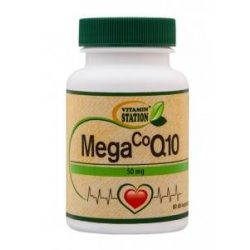 Vitamin Station CoQ10, Mega 50 mg 60 db