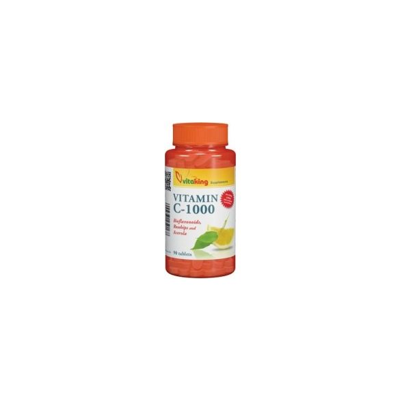 Vitaking C-vitamin 1000mg Bio (90)