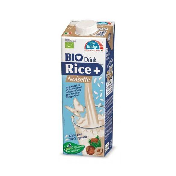Bio bridge rizsital mogyorós 1000ml