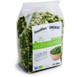 GreenMark Bio zöldborsó felezett 500 g