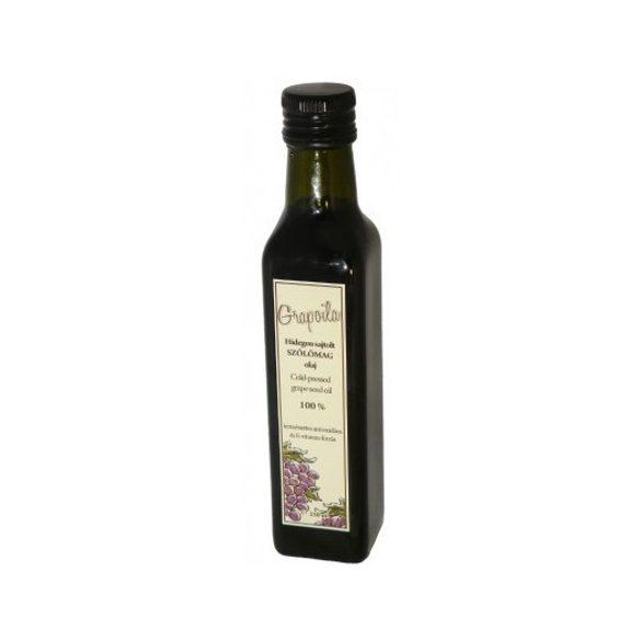 Grapoila hidegen sajtolt szőlőmagolaj 250ml