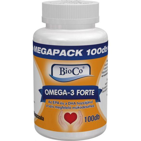 Bioco Omega-3 Forte kapszula MEGAPACK 100db