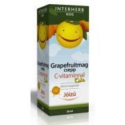 Interherb Vital Grapefruitmag csepp Kids + C-vitamin (20 ml.)