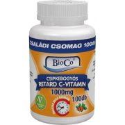 Bioco Csipkebogyós Retard C-vitamin 1000 mg Családi csomag 100db