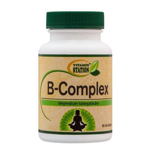 Vitamin Station B-Complex tabletta 60db