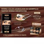 Henna Color szemöldök és szempilla krémfesték fekete 15g