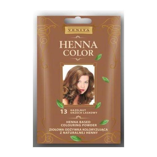 Henna Color hajszínezőpor 113 világosbarna 25g