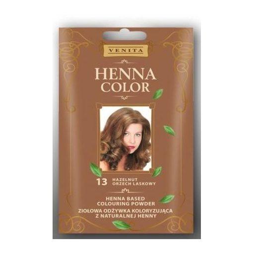 Henna Color hajszínezőpor 115 csokoládé barna 25g